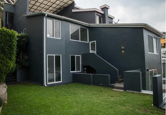 Hermosa Casa Con Vista Al Bosque 380 M2 . Av. Lomas Anahuac