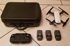 Drone Dji Spark - 3 Baterias Originais - Maleta - Controle