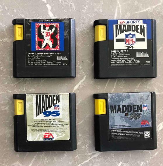 Madden 93, 94, 95 E 96 - Mega Drive/genesis