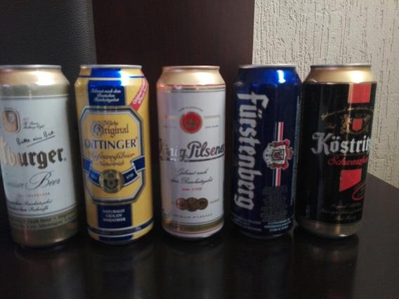 Coleccion Cervezas Alemanas Diversas Marcas En Latas Sellada