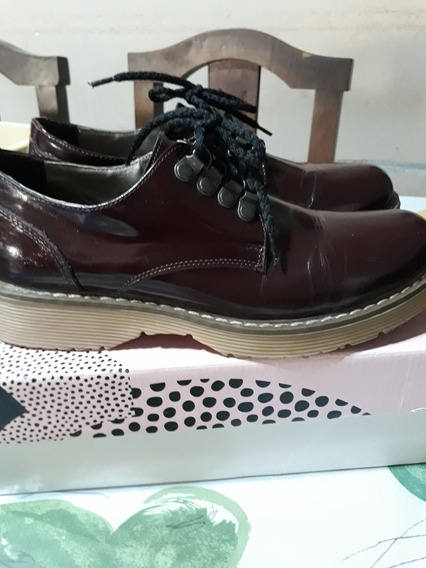 Rebajados !! Zapatos Viamo Con Cordones