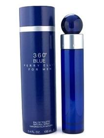 Perfume 360° Blue For Men 100ml Perry Ellis Original