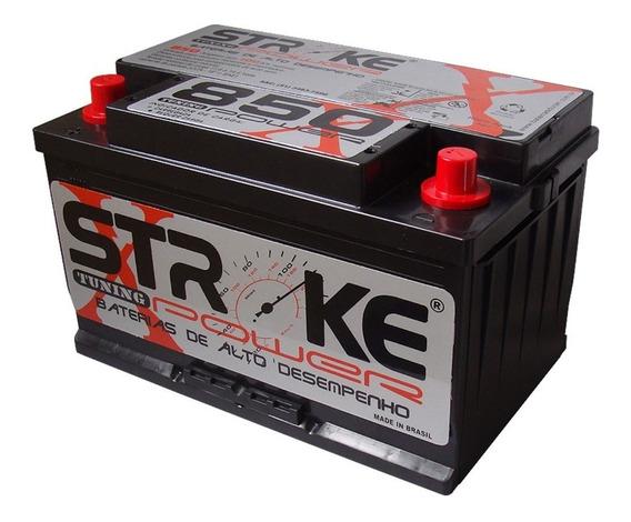 Bateria Som Automotivo Stroke Power 100ah 850ah/pico Impacto