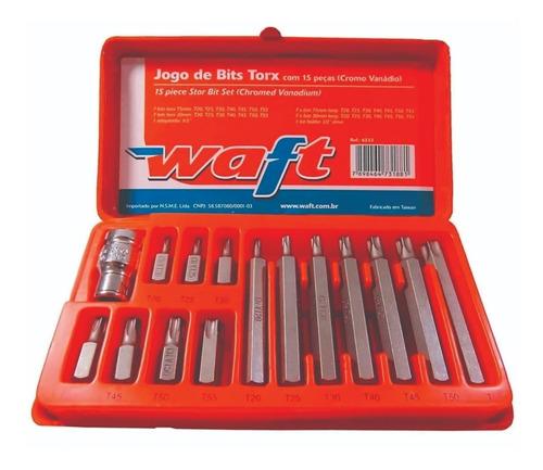 Imagem 1 de 4 de Jogo De Bits Tork Com 15 Peças-waft-6233