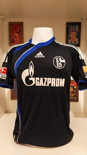 Camisa Futebol Schalke 04 adidas 2009 Mineiro