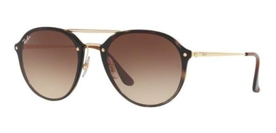 Oculos Sol Ray Ban Blaze Doublebridge Rb4292n 710/13 62mm