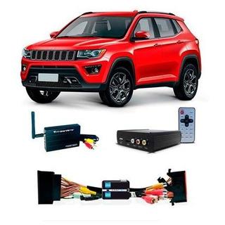 Desbloqueio De Tela Jeep Compass Tv Full Hd + Espelhamento