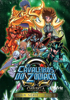 Os Cavaleiros Do Zodíaco - Omega - Box 3 - Box Com 3 Dvds
