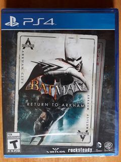 Batman Return To Arkham Juego Ps4 Nuevo Y Sellado
