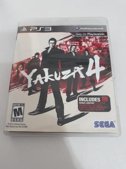 Yakuza 4 Ps3 Mídia Física
