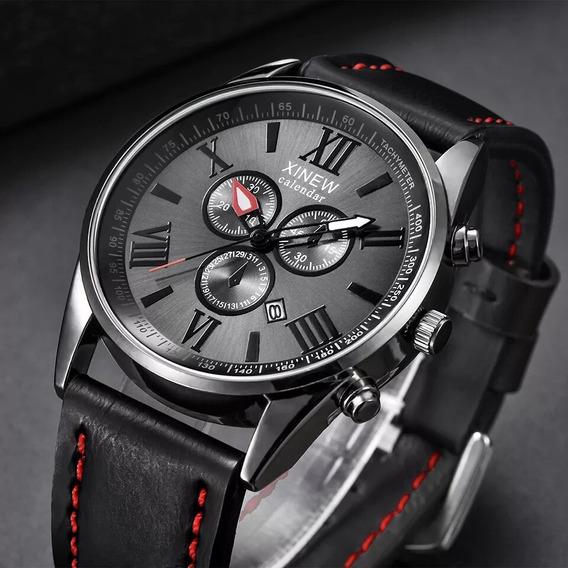 Relógio De Luxo Xinew Quartz Resistente À Aguá