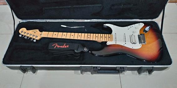 Fender Stratocaster American Standard Usa Com Case Perfeita