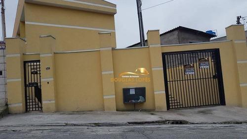 Sobrado Com 2 Dormitórios À Venda, 65 M² Por R$ 260.000,00 - Cidade Líder - São Paulo/sp - So0055