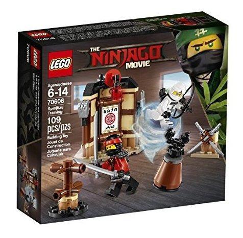 Imagen 1 de 7 de Lego Ninjago Movie Spinjitzu Training 70606 Kit De Construc