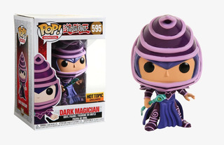 Figura Funko Pop Animation Yu-gi-oh Dark Magician 595