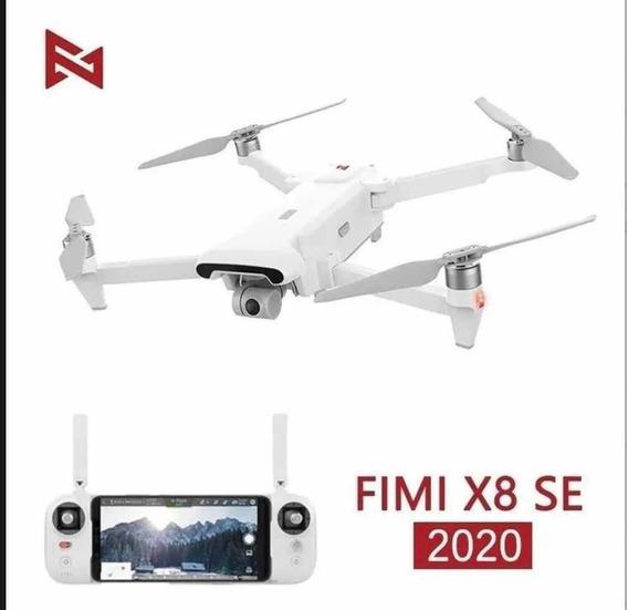 Drone Fimi X8 Se 2020 10km Bolsa,bateria + 7 Hélices Extras!