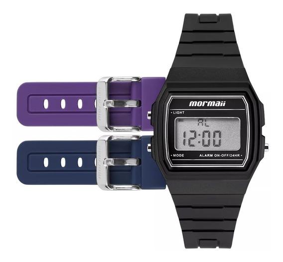 Relógio Mormaii Unissex Mojh02ah/8p - Troca Pulseira