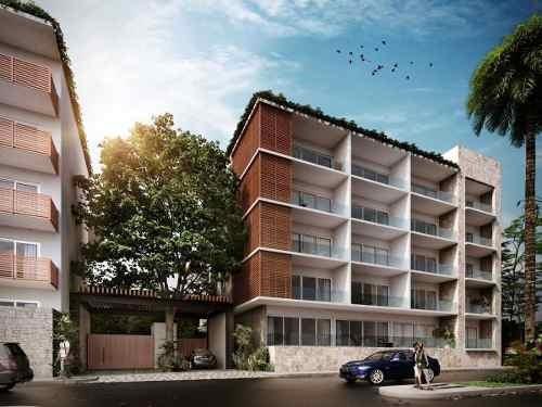 (crm-5832-39) Departamento Solea Playa Del Carmen Inversión Oportunidad