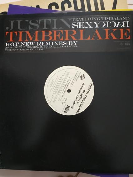 Disco Vinyl Lp Duplo Justin Timberlake Sexy Back