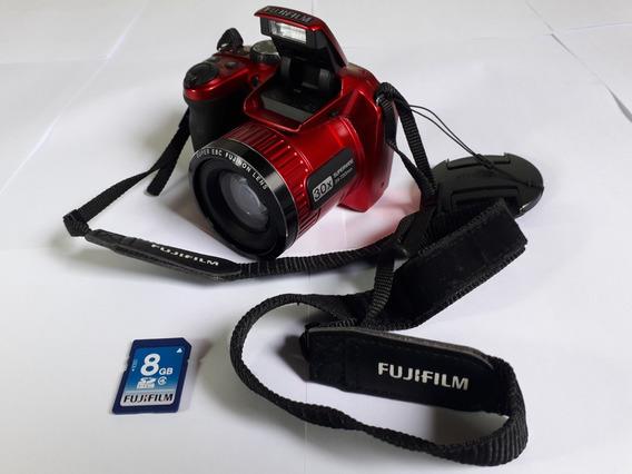Camera Semiprofissional Fuji Finepix S4800 30x