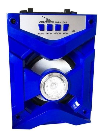 Mini Caixa De Som Amplificada Bh1044 Conexão Bluetooth, Usb