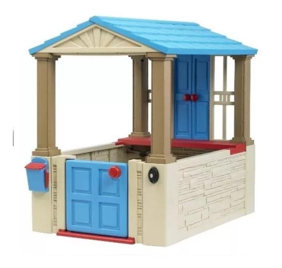 Casita De Juegos Para Niños Casa Timbre Y Buzon 109x78x109cm