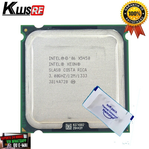 Quad Q9770 Lga775 = Xeon X5450 3.5ghz 12mb 1333mhz + Brinde