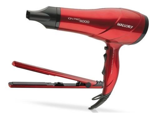 Kit Secador 2000w + Prancha Pure Seduction Mallory Bivolt