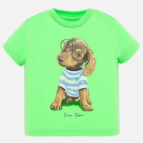 Camiseta M/c Para Bebé Talla 6 Meses Pieza Única
