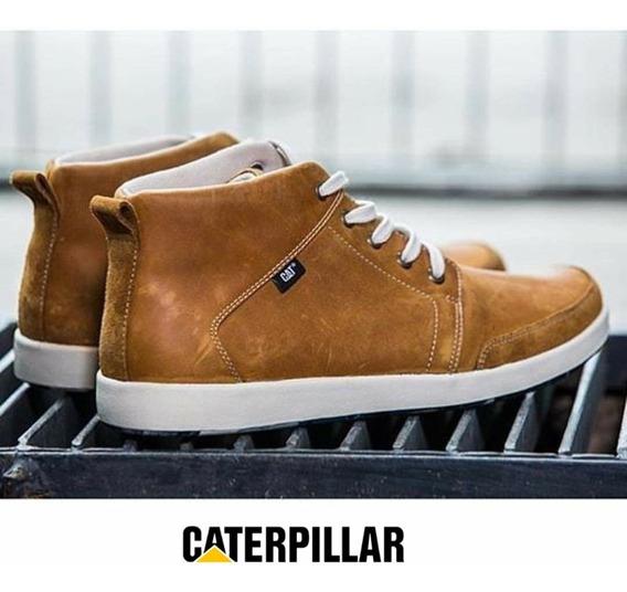 Bota Hombre Cat Cuero Premium Caterpillar