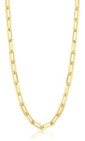 Colar Choker Cartier Folheado Em Ouro 18k