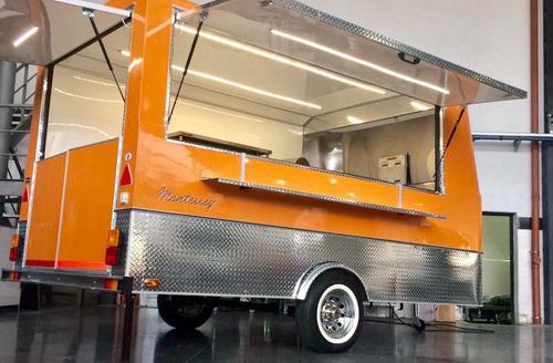 Food Trailer Mactrail Linea Monterrey 100 Xl Full