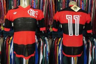 Flamengo 1981 Camisa Titular Tamanho G Número 11.
