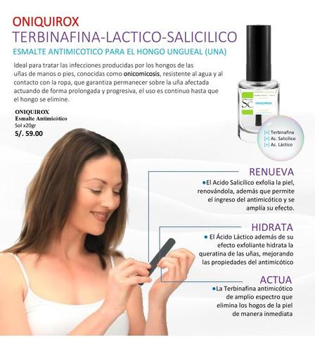 Esmalte Antimicotico Con Terbinafina, Oniquirox