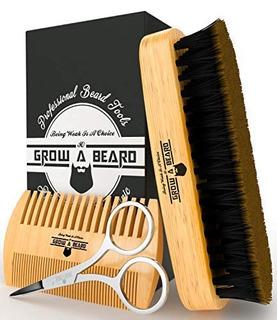 Cepillo De Barba - Juego De Peine Para Hombres - Caja De Reg