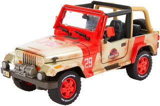 Matchbox Jurassic World Jeep Wrangler, Escala :