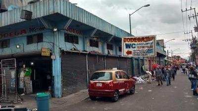 Local O Bodega Excelente Ubicacion En El Corazón De Tepito, Frente Al Mercado De Tenis