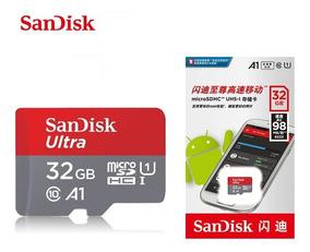 Cartão Memória Sandisk 32gb Micro Sd Ultra Class 10 Original