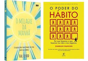 Kit Livros - O Milagre Da Manhã + O Poder Do Hábito