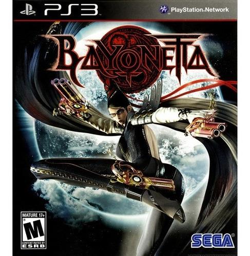 Bayonetta - Ps3 Mídia Física Novo Lacrado