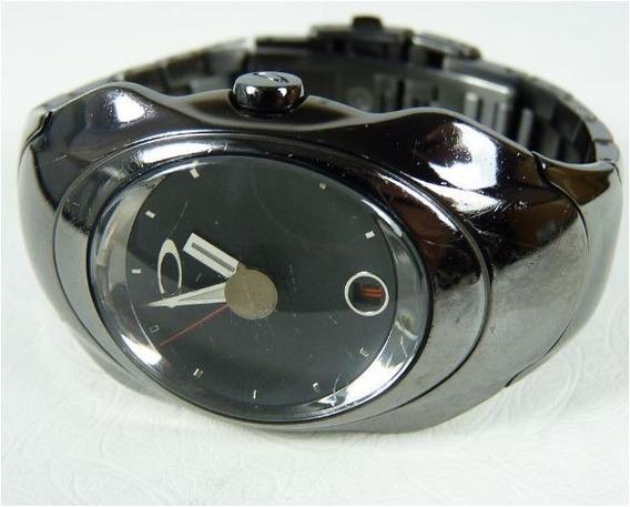 Reloj Oakley Time Bomb Acero Inox Gunmetal Edition Toys4boys