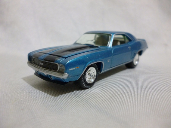 Johnny Lightning 69 Chevy Camaro Rs/ss 2007 - J P Cars