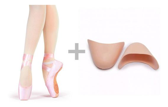 Sapatilha De Ballet Ponta De Gesso Bale Bailarina Ponteira