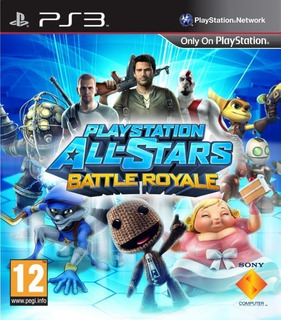 Playstation All-stars Battle Royale Ps3 Original