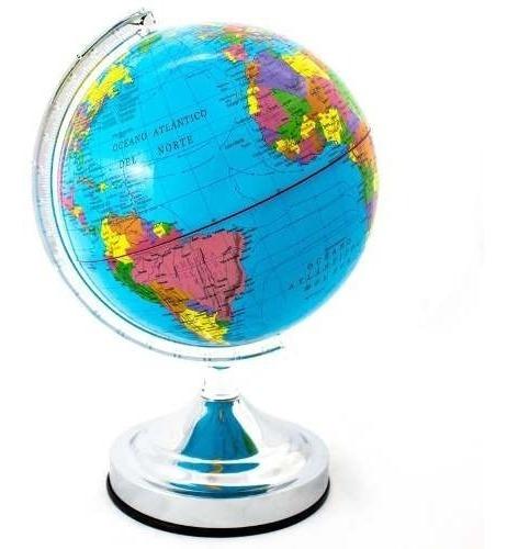 Globo Terráqueo 30  Cms Político Mundo Mapas Planeta