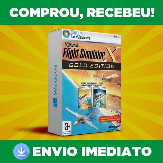 Microsoft Flight Simulator X - Pc - Português - Envio 0