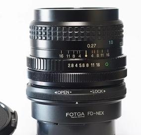 Lente Tokina 24mm 2.8 + Adapt.sony Nex (encaixe Canon Fd)
