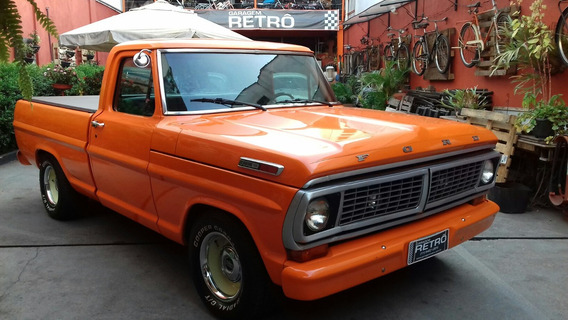 Ford Pick-up F-100 V-8 Garagem Retrô