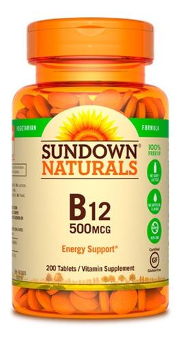 Sundown Naturals Vitamina B12 500mcg - 200cc