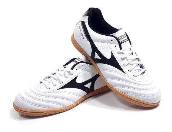 Tenis Mizuno Morelia Club Futsal Branco Tam: 39 A 44
